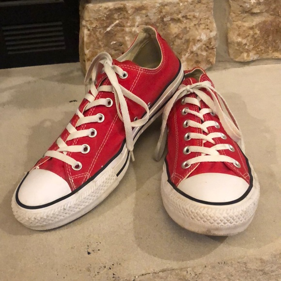 Converse Chuck Taylor All Star Red Men's Shoes